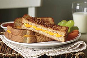 Bâtonnets de sandwich au fromage fondant