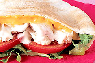 CHEEZ WHIZ Chicken Pita Pocket Image 1