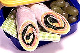 CHEEZ WHIZ Wrap Sandwich Image 1
