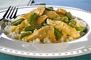 Poêlée de poulet et de haricots verts Image 1