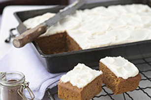 Pumpkin Spice Frosted Snack Bars Image 1
