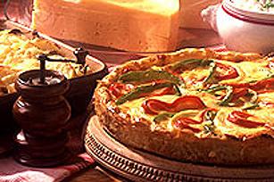 Quiche STOVE TOP au jambon et fromage Image 1