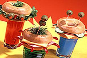 Soucoupes volantes de baguel au fromage KRAFT Image 1