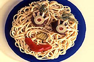 Gros yeux au Spaghetti DÎNER KRAFT Image 1