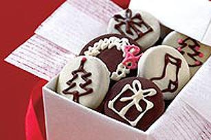 Délices des fêtes trempés dans le chocolat Image 1