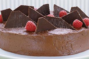 Torte au chocolat et à la framboise