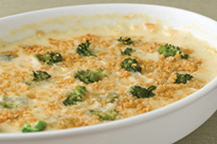 Broccoli and Corn Scallop Image 1