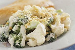 Suprême plat de brocoli et de chou-fleur