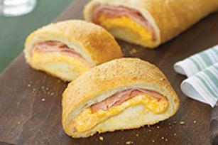 Cheesy Cheddar 'n Ham Loaf