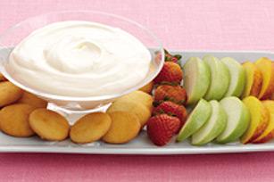 Trempette-dessert facile