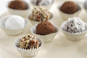 Chocolate-Peanut Butter Snowballs