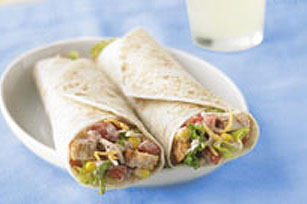 Santa Fe Grilled Chicken Salad Wrap Image 1