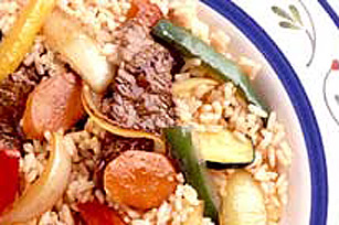 KRAFT Sweet & Sour Barbecue Stir-Fry Image 1