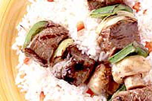 Parmesan Italian Marinated Kabobs