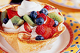 COOL WHIP et coupes de tortilla aux fruits