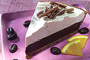 BAKER'S One-Bowl Mocha Truffle Pie