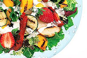 Salade d'été Miracle aux légumes grillés KRAFT Image 1