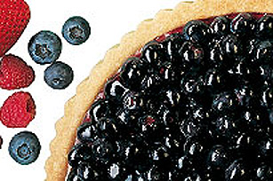 JELL-O Blueberry Creamy Orange Pie
