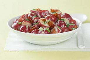 Salade de pommes de terre grillées à l'italienne
