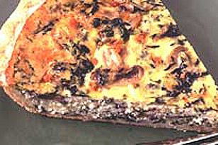 KRAFT 4 Cheese Spinach Quiche Image 1