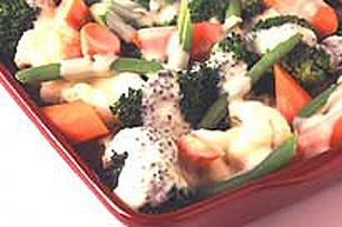 Légumes de la moisson avec sauce CHEEZ WHIZ Image 1