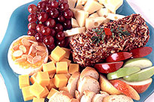 Cheese and Fruit Dessert Tray Image 1
