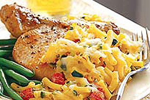 Baked Macaroni & Cheese with Chilies