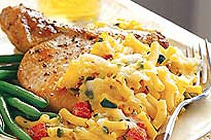 Gratin de macaroni au fromage épicé Image 1