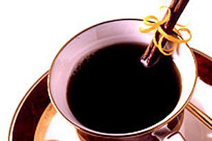 Café épice à l'orange au bord glacé Image 1