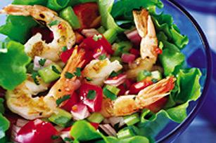 Salade aux crevettes grillées Image 1