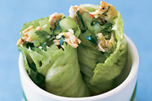 Shredded Pork Lettuce Wraps Image 1