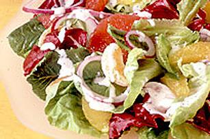 Salade d'agrumes aux graines de pavot Image 1