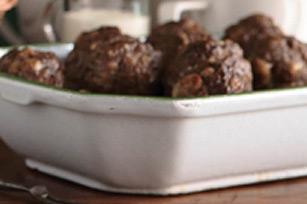 Baked Italian-Style Meatballs