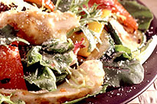 Vegetable and Chicken Salad Image 1