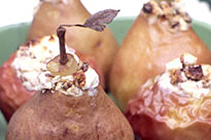 Easy Fall Baked Apples and Pears