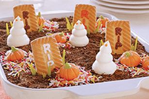 Gâteau des fantômes du cimetière Image 1