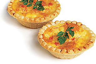Mini Swiss Cheese Tartlets