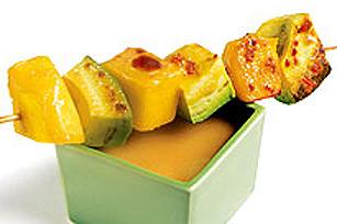 Brochettes de mangues et d'avocats Image 1