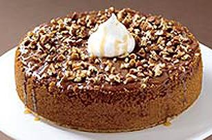 Gâteau au fromage au chocolat et au caramel