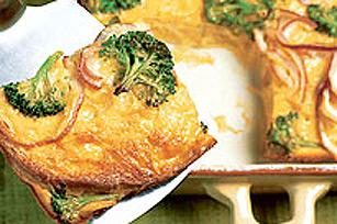 Soupers express-œufs - Strata facile au fromage Image 1