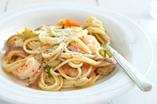 Zesty Shrimp and Pasta