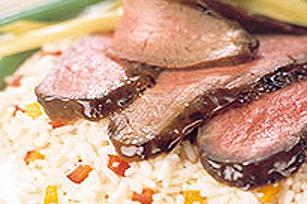 Bifteck de flanc au barbecue Image 1