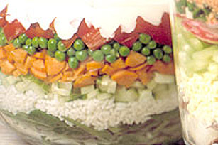 Layered California Roll Salad Image 1