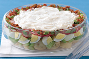 Layered Classic Potato Salad