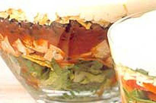 Layered Tex-Mex Chicken Salad Recipe - Kraft Canada