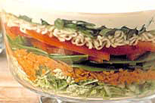 Layered Asian Coleslaw Image 1