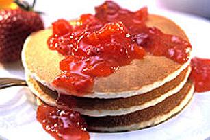 Confiture de fraises à l'érable sans cuisson Image 1