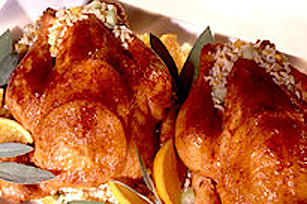 Tangerine Cornish Hens