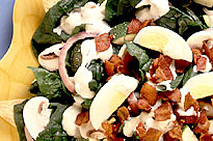 Spinach Salad on Tortillas Image 1