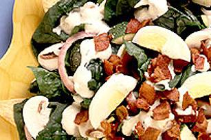 Salade d'épinards sur tortillas Image 1
